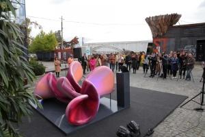 У Львові презентували скульптуру «Звуки міста»