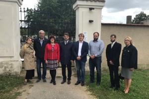 Посол України в Чехії обговорив питання відновлення пам'ятника воякам УГА