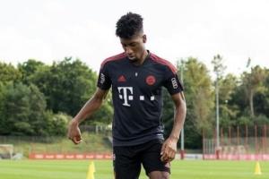 Коман возобновил тренировки с «Баварией» перед матчем с «Динамо»
