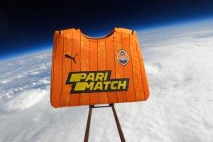 Parimatch запустили футболку «Шахтаря» у космос