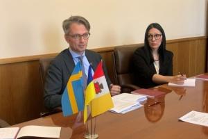 Украина защищает безопасность всех европейских наций - посол Швеции