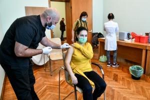 В помещении Запорожской ОГА для госслужащих организовали вакцинацию