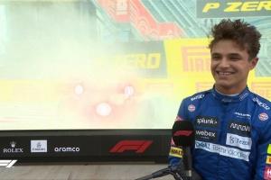 Формула-1: Норрис сенсационно выиграл квалификацию Гран-при России
