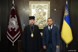 Епифаний встретился с послом Украины в Турции: о чем говорили