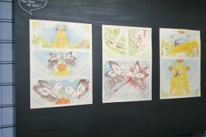 У Херсоні представили виставку коміксів про художницю Поліну Райко