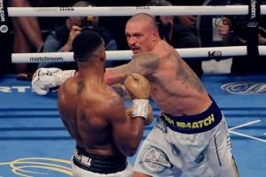Усик домінував, але Джошуа буде сильнішим під час реваншу