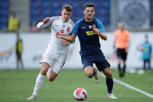 «Дніпро-1» програв «Зорі» в матчі футбольної Прем'єр-ліги України
