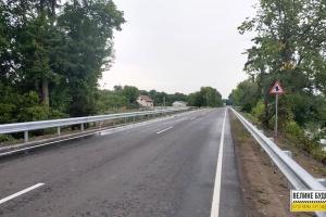 На Сумщині відремонтували дорогу місцевого значення
