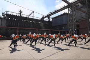 Кривой Рог популяризирует индустриальный туризм в танцевальном флешмобе