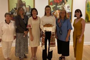 Еліна Світоліна відвідала Український національний музей у Чикаго
