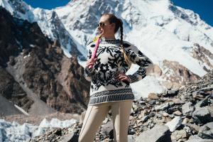 Ирина Галай, альпинистка, первая украинка на Эвересте и К2