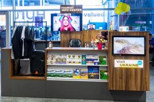 """В аэропорту """"Борисполь"""" открыли туристско-информационный центр"""