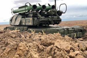 «Объединенные усилия-2021»: украинские «Буки» обстреляли вражеские цели в небе