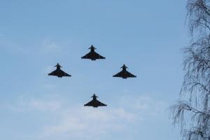 Авіапатруль НАТО в Балтії за тиждень сім разів супроводжував військові літаки РФ