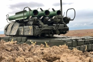 Joint Efforts 2021: Ukraine's Buk launchers engage conditional enemy's aerial targets