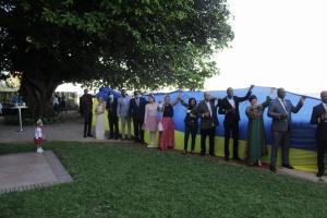 Українська громада відсвяткувала річницю незалежності України в Мозамбіку