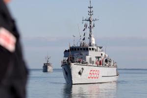 Кораблі НАТО увійшли у територіальні води Грузії