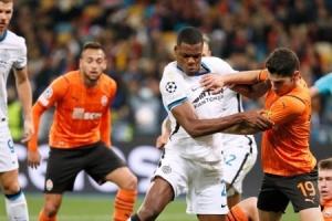 «Шахтер» сыграл вничью с «Интером» в Лиге чемпионов УЕФА