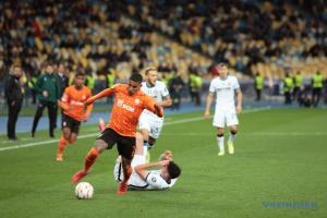 «Шахтар» зіграв внічию з «Інтером» у Лізі чемпіонів УЄФА