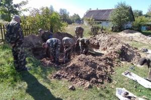 На Житомирщині знайшли поховання солдатів вермахту