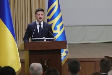 Zełenski - Ukraina liczy na gwarancje USA w kwestii Nord Stream 2