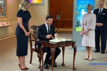 Presidential couple presents Ukrainian-language audio guide at Mount Vernon