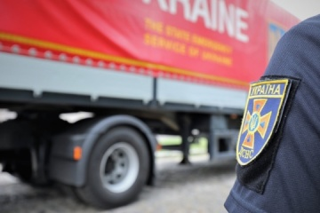 Ucrania envía más de 48 toneladas de ayuda humanitaria a Lituania para necesidades de seguridad