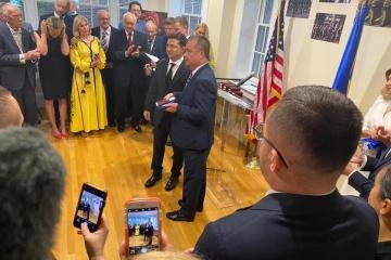 Inaugurada la Casa Ucraniana en Washington con la participación de la pareja presidencial