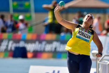 Pomazan wins Paralympic shot put gold