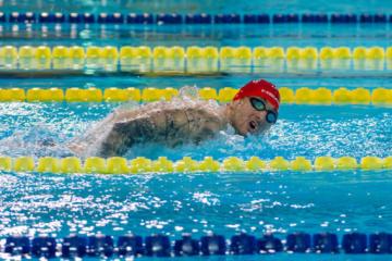 Nadador Ostapchenko se lleva el oro en las Paralimpiadas