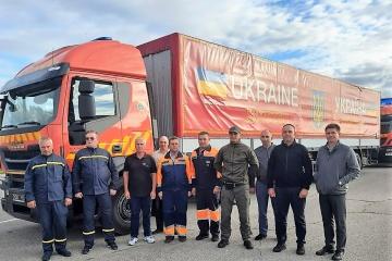 Ukrainian humanitarian cargo arrives in Lithuania