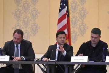 ゼレンシキー大統領、米シリコンバレーでウクライナのIT産業の活躍を紹介