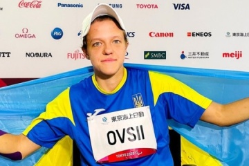 Ukrainian Ovsii wins Paralympic gold in club throw