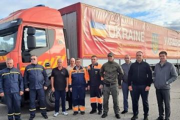 Carga humanitaria ucraniana llega a Lituania