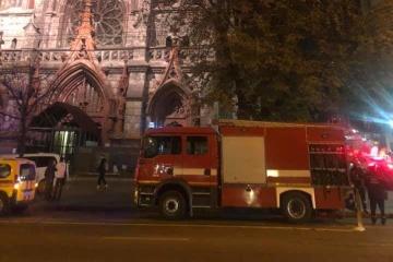 Kurzschluss könnte Brand in St.-Nikolaus-Kathedrale verursachen