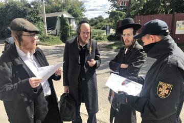Neujahrsfest Rosch Haschana: Rund 27.000 chassidische Juden in Uman angekommen