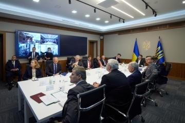 Zelensky se reúne con una delegación del Congreso de EE. UU.
