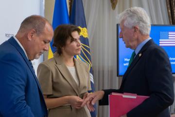Venediktova se reúne con congresistas de EE.UU. para hablar de reformas