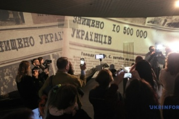 Inaugurada una Sala de Recuerdo renovada en el Museo del Holodomor