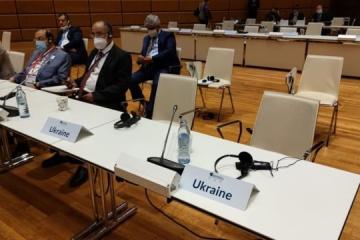 Delegacja ukraińska zignorowała przemówienie rosyjskiej spikerki Matwienko na międzynarodowej konferencji