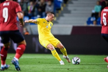 Ukraine held to draw by Czech Republic in friendly