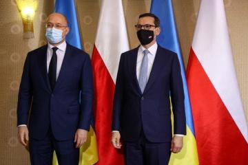 Shmygal se encuentra en Karpacz con Morawiecki