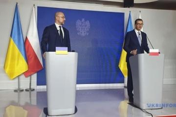 Shmygal propone celebrar una cumbre del Triángulo de Lublin a nivel de primeros ministros