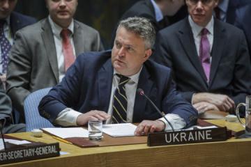Kyslytsya pide a los Estados miembros de la ONU que se unan a la Plataforma Crimea