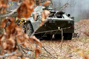 Konfliktgebiet Ostukraine: Besatzer brechen drei Mal die Waffenruhe