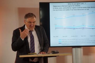 オランダでウクライナ問題会議開催 独立30年の達成と挑戦を議論