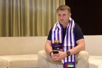 Rebrov named best coach in UAE Pro League in August