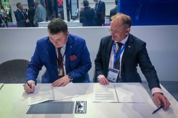 Ukroboronprom, Babcock sign cooperation agreement to expand Ukrainian Navy capabilities