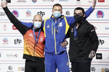 Ucraniano Boldyrev se lleva el oro del Campeonato Mundial de Escalada