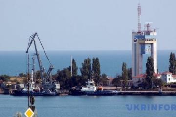 Chemieunternehmen Hafenwerk Odessa stell Betrieb ein